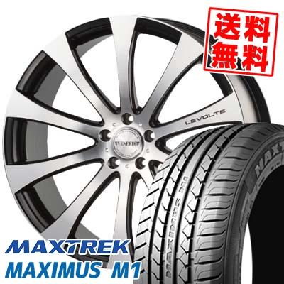 245/40R19 98W XL MAXTREK マックストレック MAXIMUS M1 マキシマス エムワン VENERDI LEVOLTE ヴェネルディ レヴォルテ サマータイヤホイール4本セット