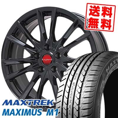 195/60R16 89H MAXTREK マックストレック MAXIMUS M1 マキシマス エムワン LeyBahn GBX レイバーン GBX サマータイヤホイール4本セット