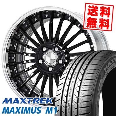 245/40R19 98W XL MAXTREK マックストレック MAXIMUS M1 マキシマス エムワン WORK Lanvec LF1 Odisk ワーク ランべック LF1 Oディスク サマータイヤホイール4本セット