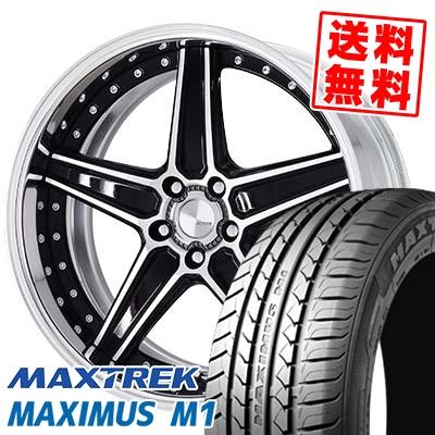 245/40R19 98W XL MAXTREK マックストレック MAXIMUS M1 マキシマス エムワン WORK Lanvec LS1 Odisk ワーク ランべック LS1 Oディスク サマータイヤホイール4本セット