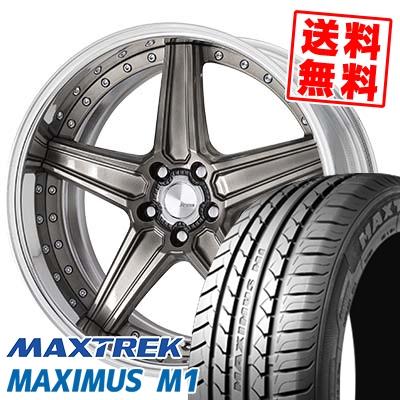 245/35R19 93W XL MAXTREK マックストレック MAXIMUS M1 マキシマス エムワン WORK Lanvec LS1 Odisk ワーク ランべック LS1 Oディスク サマータイヤホイール4本セット