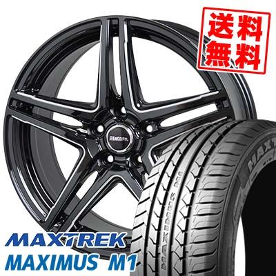 205/55R16 94V XL MAXTREK マックストレック MAXIMUS M1 マキシマス エムワン Laffite LW-04 ラフィット LW-04 サマータイヤホイール4本セット