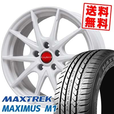 225/55R17 101V XL MAXTREK マックストレック MAXIMUS M1 マキシマス エムワン LeyBahn WGS レイバーン WGS サマータイヤホイール4本セット【取付対象】