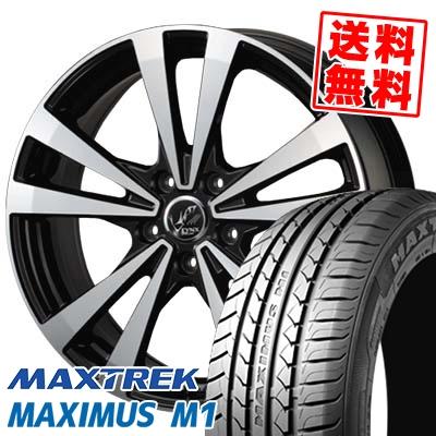 215/50R17 95V XL MAXTREK マックストレック MAXIMUS M1 マキシマス エムワン PRAUZER LYNX プラウザー リンクス サマータイヤホイール4本セット【取付対象】