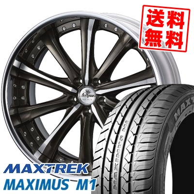 245/35R19 93W XL MAXTREK マックストレック MAXIMUS M1 マキシマス エムワン weds Kranze Maricive ウェッズ クレンツェ マリシーブ サマータイヤホイール4本セット