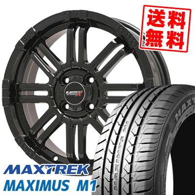 155/55R14 69V MAXTREK マックストレック MAXIMUS M1 マキシマス エムワン B-MUD X Bマッド エックス サマータイヤホイール4本セット【取付対象】