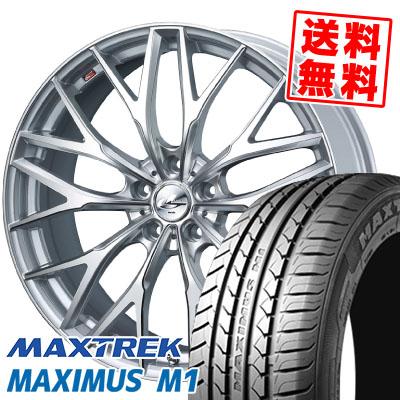 225/60R17 99V MAXTREK マックストレック MAXIMUS M1 マキシマス エムワン weds LEONIS MX ウェッズ レオニス MX サマータイヤホイール4本セット