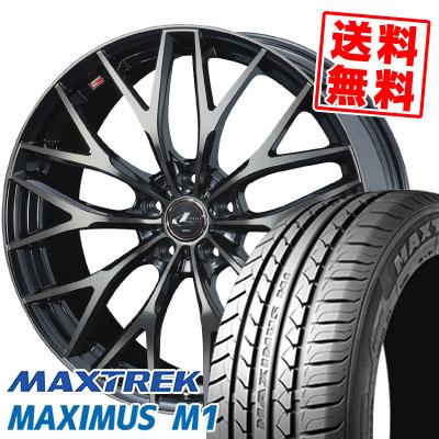 245/40R18 97W XL MAXTREK マックストレック MAXIMUS M1 マキシマス エムワン weds LEONIS MX ウェッズ レオニス MX サマータイヤホイール4本セット