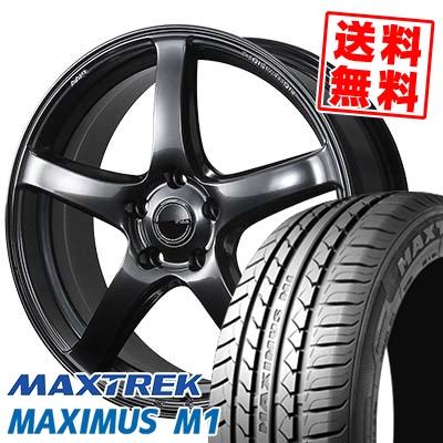 245/40R18 97W XL MAXTREK マックストレック MAXIMUS M1 マキシマス エムワン PIAA Eleganza S-01 PIAA エレガンツァ S-01 サマータイヤホイール4本セット