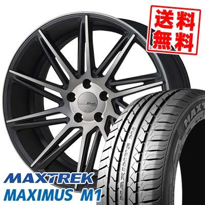 245/40R18 97W XL MAXTREK マックストレック MAXIMUS M1 マキシマス エムワン MONZA Warwic REVOX モンツァ ワーウィック レヴォックス サマータイヤホイール4本セット