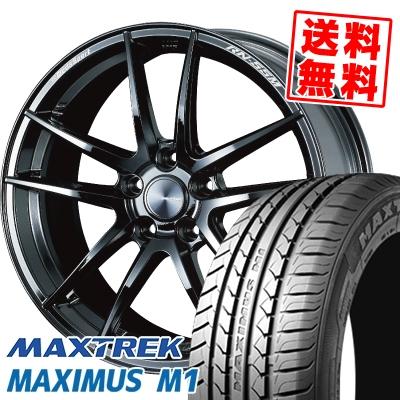245/35R19 93W XL MAXTREK マックストレック MAXIMUS M1 マキシマス エムワン WedsSport RN-55M ウェッズスポーツ RN-55M サマータイヤホイール4本セット