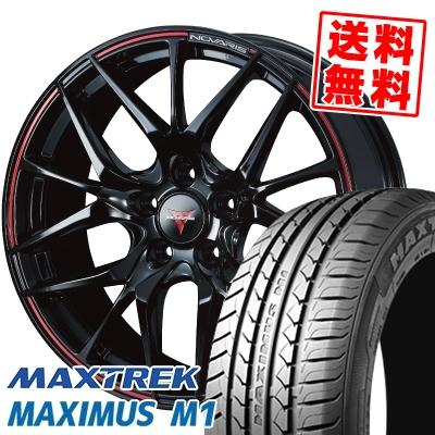 225/60R17 99V MAXTREK マックストレック MAXIMUS M1 マキシマス エムワン WEDS NOVARIS ROHGUE SH ウェッズ ノヴァリス ローグ SH サマータイヤホイール4本セット