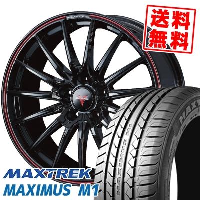 215/50R17 95V XL MAXTREK マックストレック MAXIMUS M1 マキシマス エムワン WEDS NOVARIS ROHGUE SO ウェッズ ノヴァリス ローグ SO サマータイヤホイール4本セット