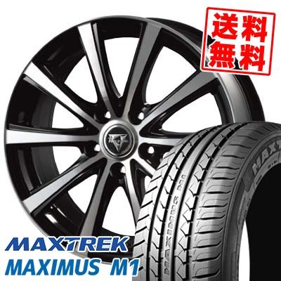 205/55R16 94V XL MAXTREK マックストレック MAXIMUS M1 マキシマス エムワン Razee XV レイジー XV サマータイヤホイール4本セット