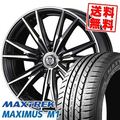 205/55R16 94V XL MAXTREK マックストレック MAXIMUS M1 マキシマス エムワン WEDS RIZLEY DK ウェッズ ライツレーDK サマータイヤホイール4本セット【取付対象】