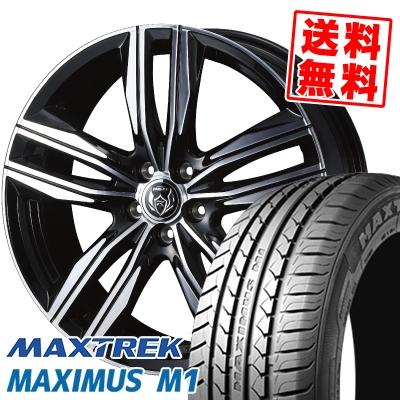 215/50R17 95V XL MAXTREK マックストレック MAXIMUS M1 マキシマス エムワン WEDS RIZLEY DS ウェッズ ライツレー DS サマータイヤホイール4本セット