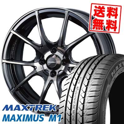 215/40R17 87W XL MAXTREK マックストレック MAXIMUS M1 マキシマス エムワン wedsSport SA-10R ウエッズスポーツ SA10R サマータイヤホイール4本セット