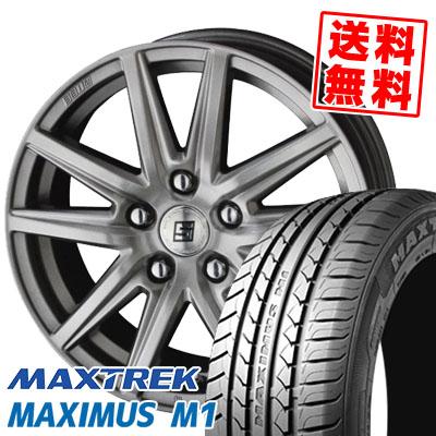 195/60R16 89H MAXTREK マックストレック MAXIMUS M1 マキシマス エムワン SEIN SS ザイン エスエス サマータイヤホイール4本セット