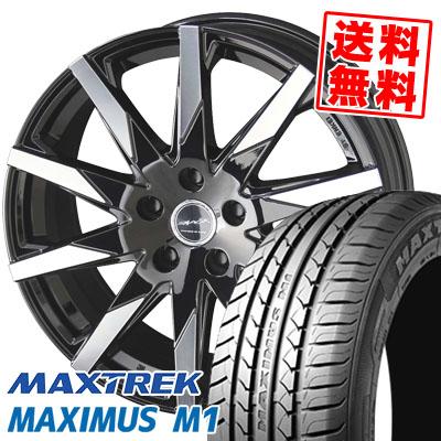 205/60R16 92H MAXTREK マックストレック MAXIMUS M1 マキシマス エムワン SMACK SFIDA スマック スフィーダ サマータイヤホイール4本セット