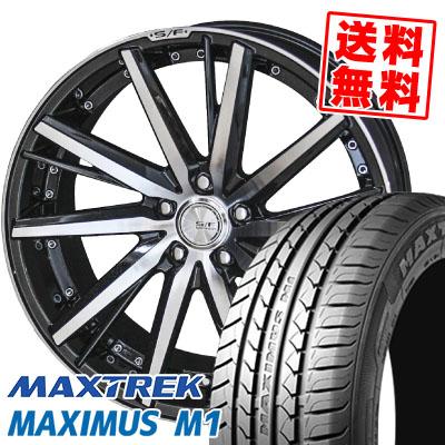 245/40R19 98W XL MAXTREK マックストレック MAXIMUS M1 マキシマス エムワン STEINER FORCED SERIES SF-V シュタイナー フォースドシリーズ SF-V サマータイヤホイール4本セット