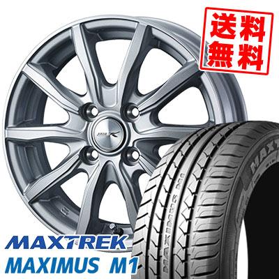 155/55R14 69V MAXTREK マックストレック MAXIMUS M1 マキシマス エムワン JOKER SHAKE ジョーカー シェイク サマータイヤホイール4本セット