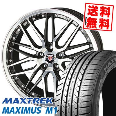 245/35R19 93W XL MAXTREK マックストレック MAXIMUS M1 マキシマス エムワン STEINER LMX シュタイナー LMX サマータイヤホイール4本セット