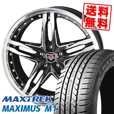 235/35R19 91W XL MAXTREK マックストレック MAXIMUS M1 マキシマス エムワン STEINER LSV シュタイナー LSV サマータイヤホイール4本セット