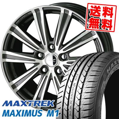 205/60R16 92H MAXTREK マックストレック MAXIMUS M1 マキシマス エムワン SMACK SPARROW スマック スパロー サマータイヤホイール4本セット