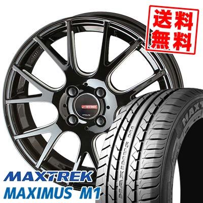 205/60R16 92H MAXTREK マックストレック MAXIMUS M1 マキシマス エムワン CIRCLAR RM-7 サーキュラー RM-7 サマータイヤホイール4本セット【取付対象】