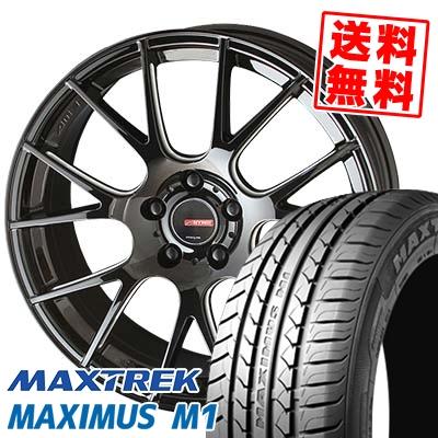 225/60R17 99V MAXTREK マックストレック MAXIMUS M1 マキシマス エムワン CIRCLAR RM-7 サーキュラー RM-7 サマータイヤホイール4本セット