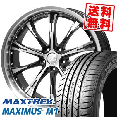 245/40R19 98W XL MAXTREK マックストレック MAXIMUS M1 マキシマス エムワン Cliff Climb TC-02 クリフクライム TC02 サマータイヤホイール4本セット