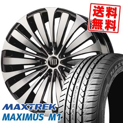 245/40R19 98W XL MAXTREK マックストレック MAXIMUS M1 マキシマス エムワン GARSON D.A.D VELUGA ギャルソン DAD ヴェルーガ(ベルーガ) サマータイヤホイール4本セット