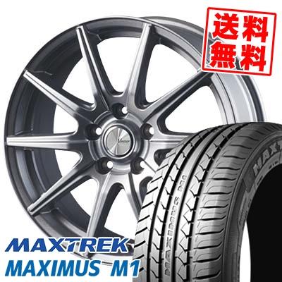 225/55R17 101V XL MAXTREK マックストレック MAXIMUS M1 マキシマス エムワン V-EMOTION SR10 Vエモーション SR10 サマータイヤホイール4本セット【取付対象】