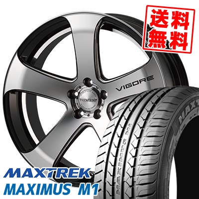 245/40R18 97W XL MAXTREK マックストレック MAXIMUS M1 マキシマス エムワン VENERDi VIGORE ヴェネルディ ヴィゴーレ サマータイヤホイール4本セット