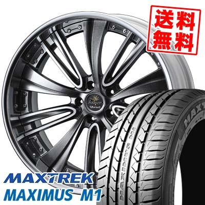 245/35R19 93W XL MAXTREK マックストレック MAXIMUS M1 マキシマス エムワン weds Kranze Vorteil ウェッズ クレンツェ ヴォルテイル サマータイヤホイール4本セット