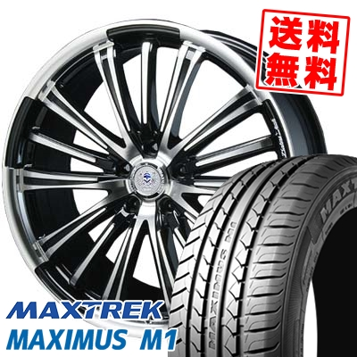 245/40R18 97W XL MAXTREK マックストレック MAXIMUS M1 マキシマス エムワン BAHNS TECK VR-01 バーンズテック VR01 サマータイヤホイール4本セット