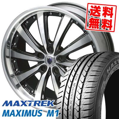 245/40R19 98W XL MAXTREK マックストレック MAXIMUS M1 マキシマス エムワン STEINER VS-5 シュタイナー VS5 サマータイヤホイール4本セット