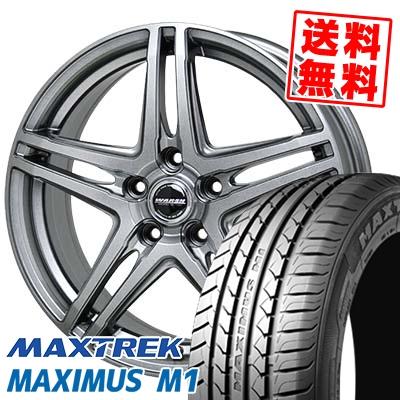 205/60R16 92H MAXTREK マックストレック MAXIMUS M1 マキシマス エムワン WAREN W04 ヴァーレン W04 サマータイヤホイール4本セット