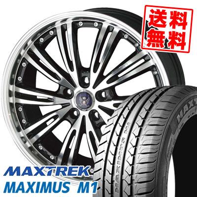 245/35R19 93W XL MAXTREK マックストレック MAXIMUS M1 マキシマス エムワン STEINER WX5 シュタイナー WX5 サマータイヤホイール4本セット