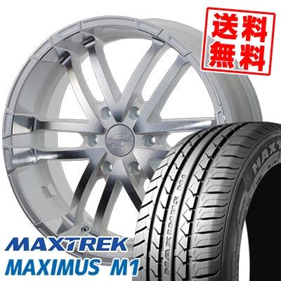 215/60R17C 109/107Q MAXTREK マックストレック MAXIMUS M1 マキシマス エムワン ZERO BREAK S ゼロブレイク エス サマータイヤホイール4本セット for 200系ハイエース【取付対象】