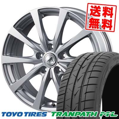 205/65R15 94H TOYO TIRES トーヨー タイヤ TRANPATH ML トランパスML AZ SPORTS EX10 AZスポーツ EX10 サマータイヤホイール4本セット