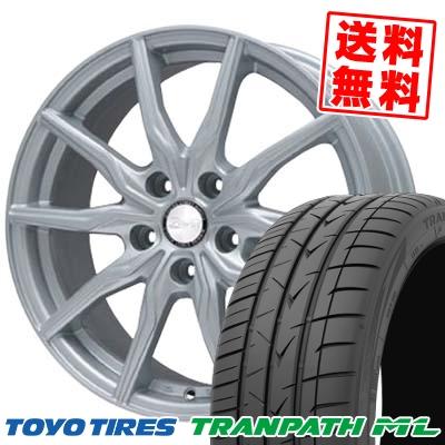 205/60R16 TOYO TIRES トーヨー タイヤ TRANPATH ML トランパスML B-WIN KRX B-WIN KRX サマータイヤホイール4本セット
