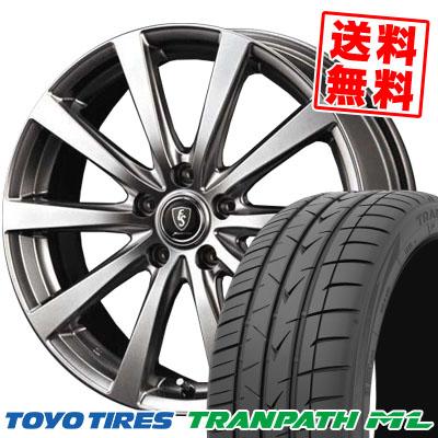 215/60R17 96H TOYO TIRES トーヨー タイヤ TRANPATH ML トランパスML Euro Speed G10 ユーロスピード G10 サマータイヤホイール4本セット