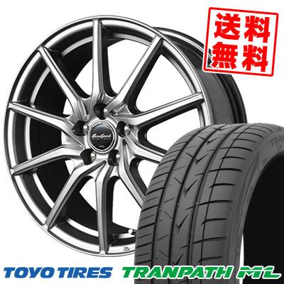 215/45R18 93W XL TOYO TIRES トーヨー タイヤ TRANPATH ML トランパスML EuroSpeed G810 ユーロスピード G810 サマータイヤホイール4本セット
