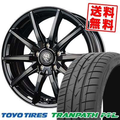 215/60R17 96H TOYO TIRES トーヨー タイヤ TRANPATH ML トランパスML TRG-GB10 TRG GB10 サマータイヤホイール4本セット
