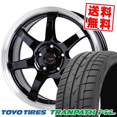 195/65R15 91H TOYO TIRES トーヨー タイヤ TRANPATH ML トランパスML G.speed P-03 ジースピード P-03 サマータイヤホイール4本セット