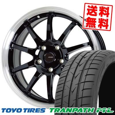 215/60R16 95H TOYO TIRES トーヨー タイヤ TRANPATH ML トランパスML G.speed P-04 ジースピード P-04 サマータイヤホイール4本セット【取付対象】