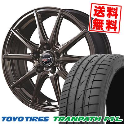 225/40R18 92W XL TOYO TIRES トーヨー タイヤ TRANPATH ML トランパスML FINALSPEED GR-Volt ファイナルスピード GRボルト サマータイヤホイール4本セット