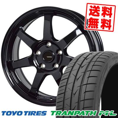 205/65R16 95H TOYO TIRES トーヨー タイヤ TRANPATH ML トランパスML G.speed G-03 Gスピード G-03 サマータイヤホイール4本セット