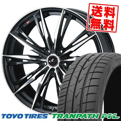 205/55R16 94W TOYO TIRES トーヨー タイヤ TRANPATH ML トランパスML WEDS LEONIS GX ウェッズ レオニス GX サマータイヤホイール4本セット